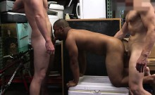 Black ass dude receives massive fucked