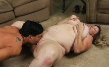 Fat beauteous cutie gets nailed well