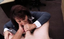 Big tits wife pawns her pussy for money