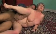 Granny With A Naked Pussy Having Sex